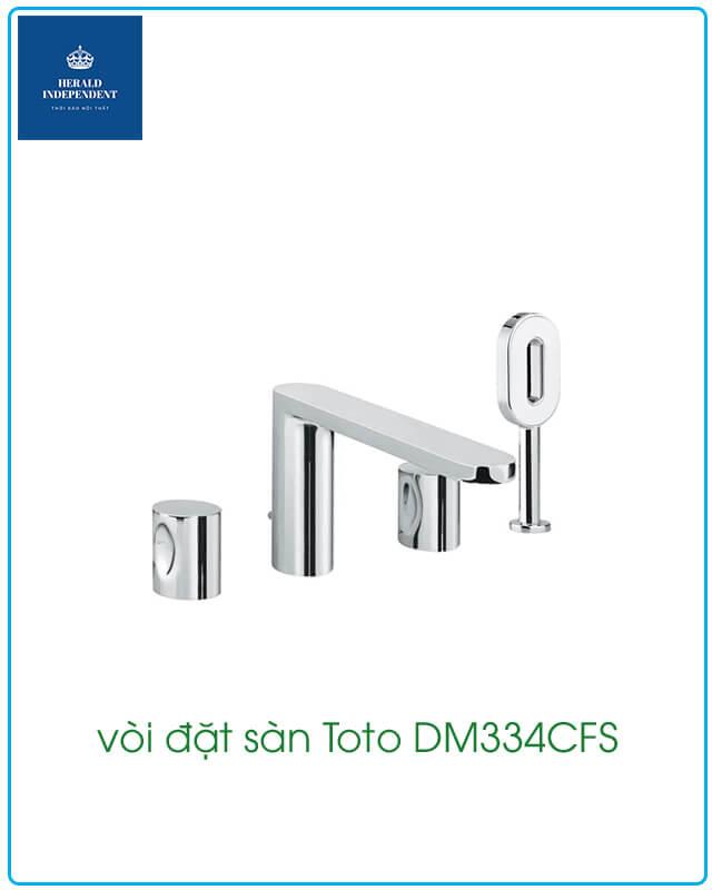 vòi đặt sàn Toto DM334CFS