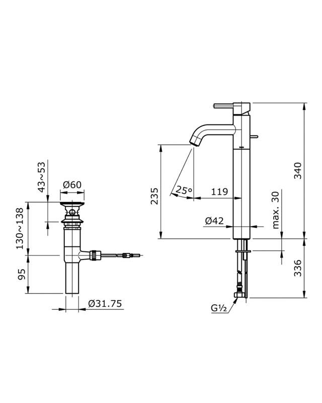 Hướng dẫn lắp đặt vòi chậu Toto TLG02307V