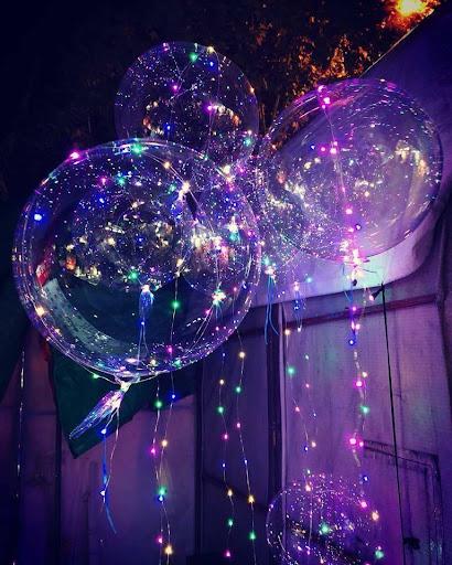 Bóng bóng LED bài trí