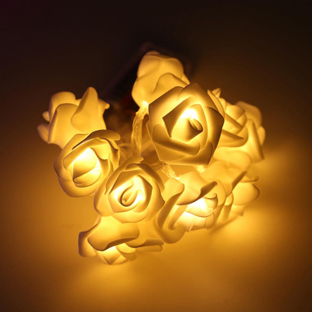 Bóng đèn led hình hoa hồng