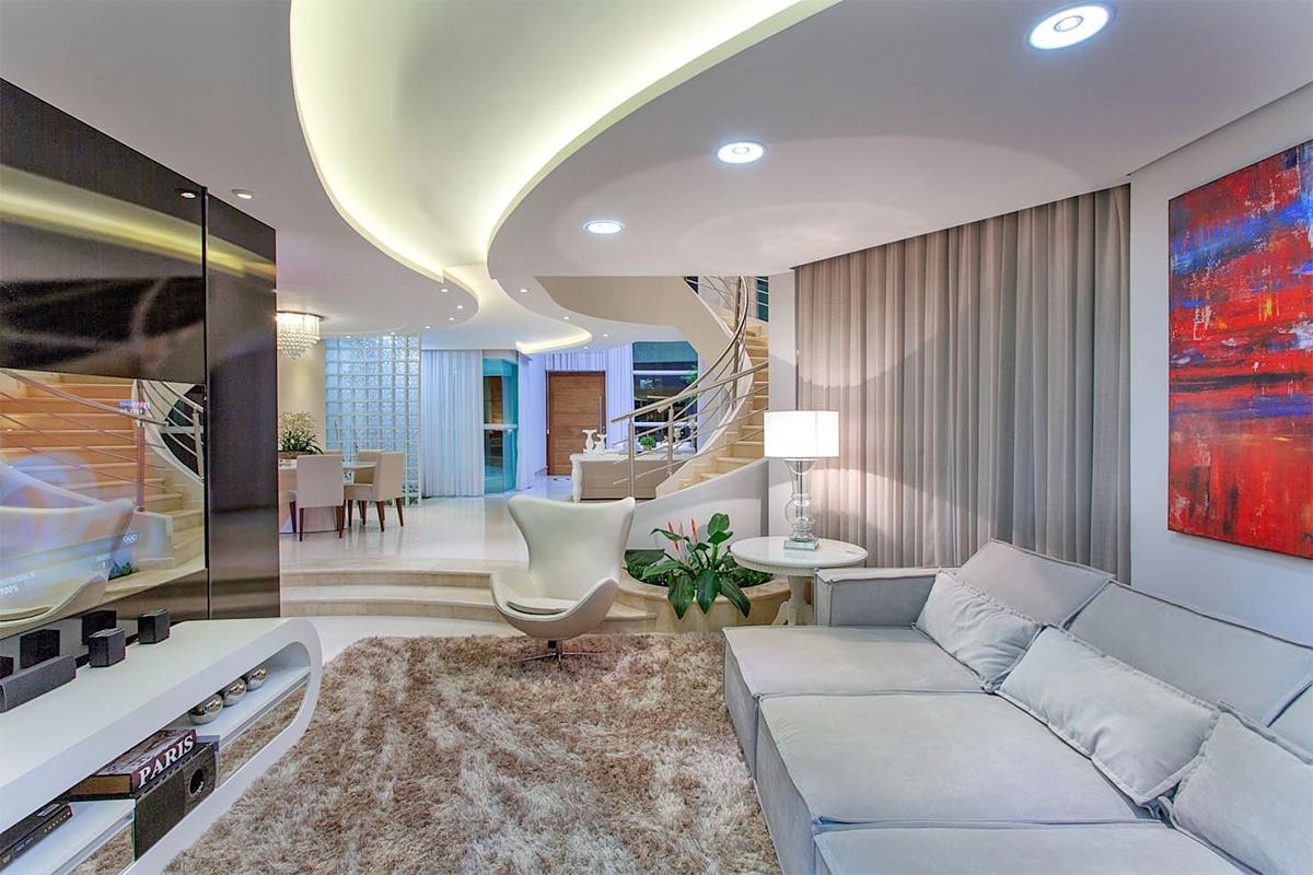 Bóng trang trí cho phòng khách