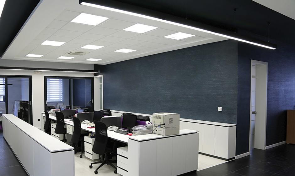 Đèn LED Panel trong công việc