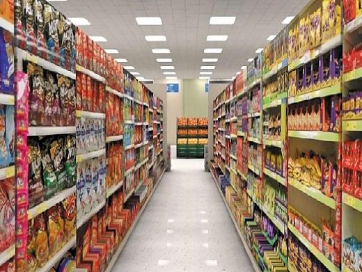 Đèn LED Panel trong siêu thị