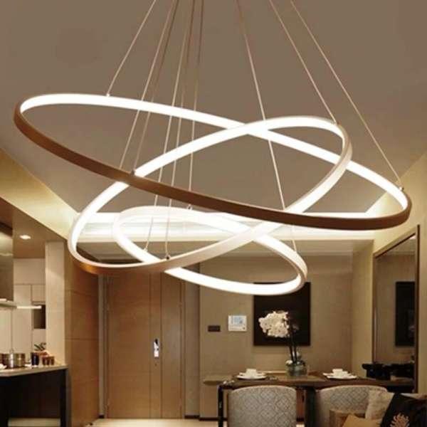 Đèn thả trần trang trí nội thất sang trọng